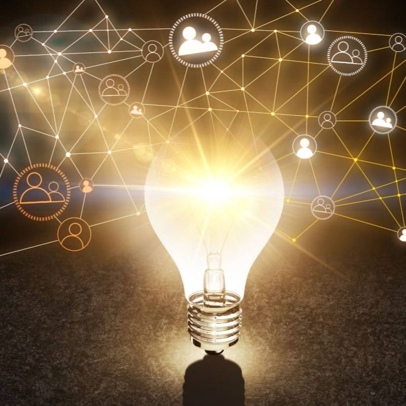 Light bulb networking